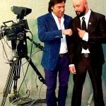 Federico Iannoni Sebastianini con il presentatore tv e showman Valerio Merola (1)
