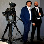 Federico Iannoni Sebastianini con il presentatore tv e showman Valerio Merola (2)