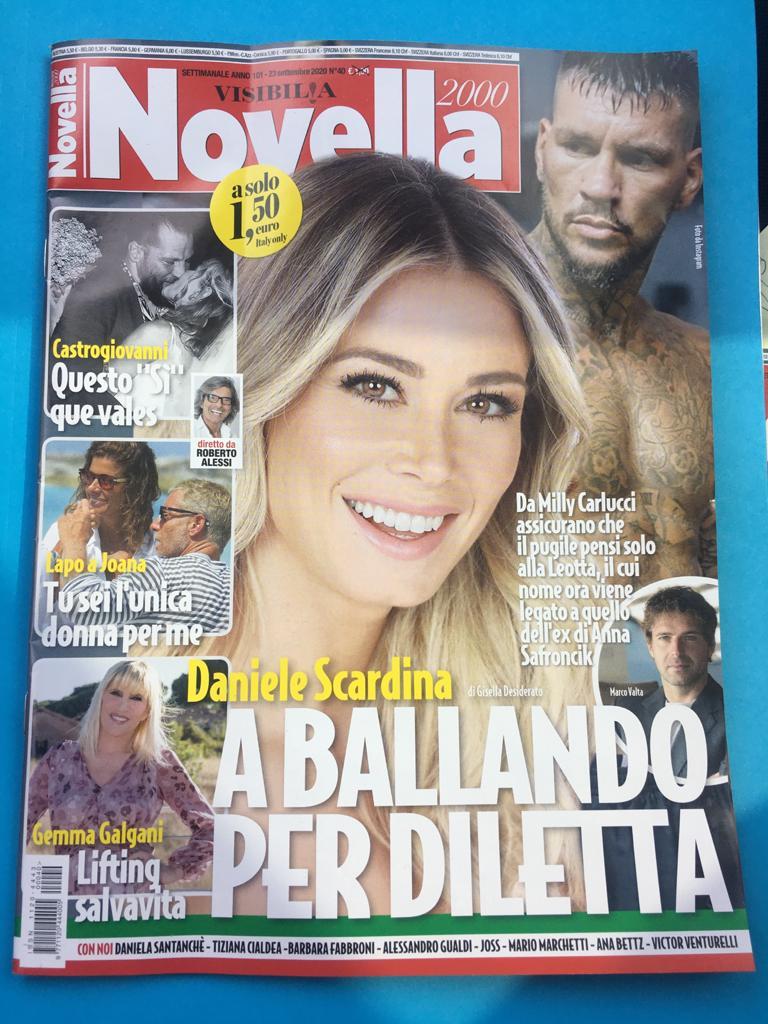 Intervista a Federico Iannoni Sebastianini su settimanale Novella2000 1